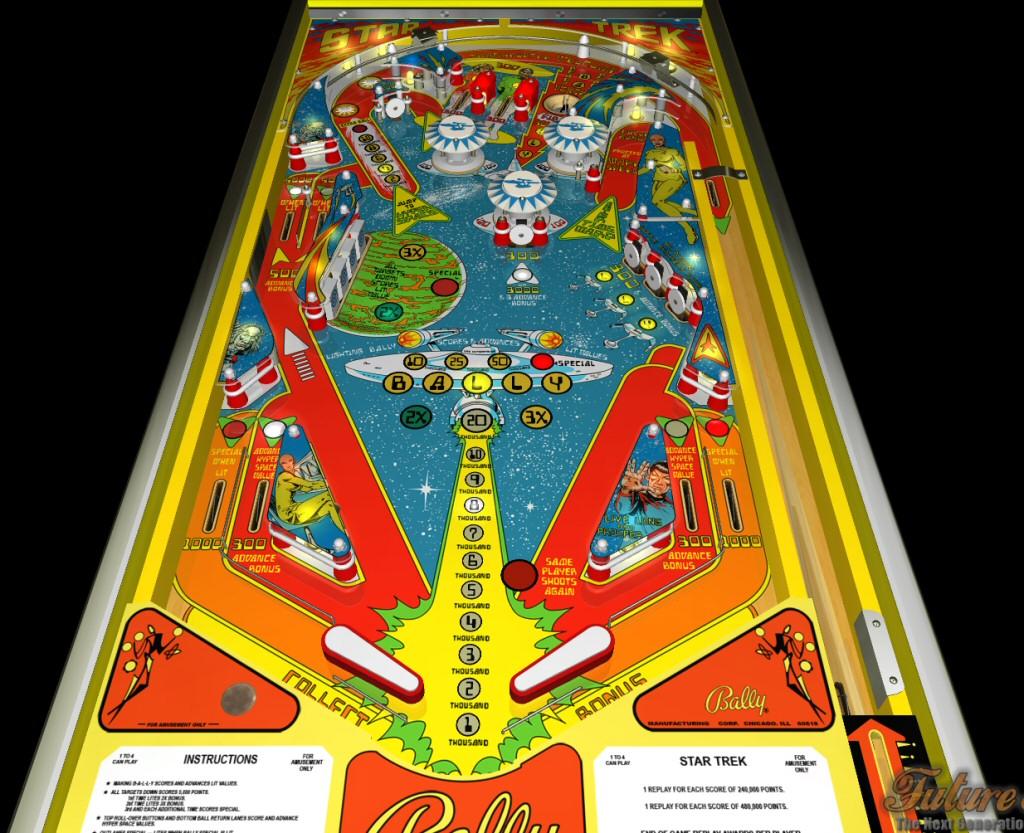 1979 star trek pinball machine